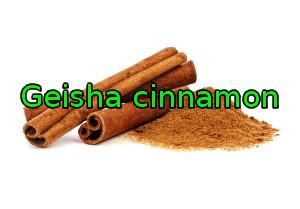 Geisha cinnamon